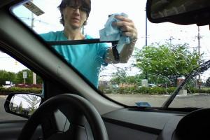 Правила очистки автомобильных стёкол
