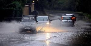 Во время дождя – как с гуся вода